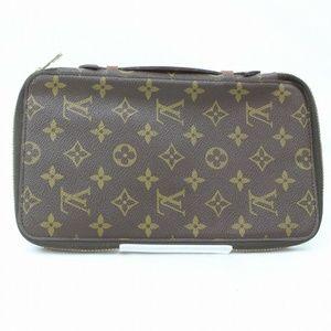 💯Auth Louis Vuitton Zippy Wallet Travel Organizer